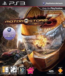Motorstorm Apocalypse Ps3 Original Entrega Inmediata
