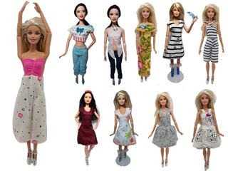 25 Conjuntos De Ropita Ropa De Barbie + 25 Zapatitos