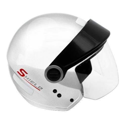 Capacete Ebf Shield Solid Branco