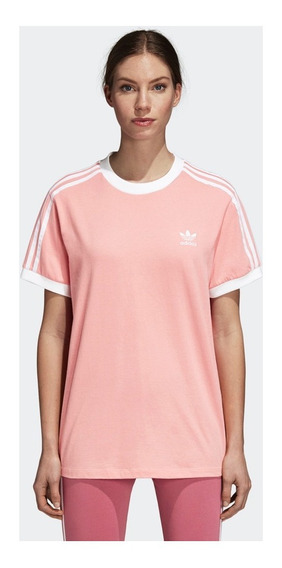 Remera adidas Originals 3 Stripes Tee Dh3186 Mujer Dh3186-dh