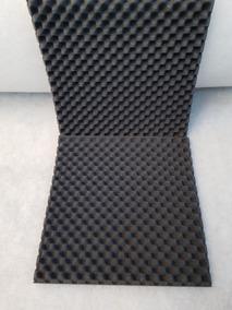 Espuma Acústica Kit C/ 10 Placas - 50cm X 50cm X 2cm - C.o