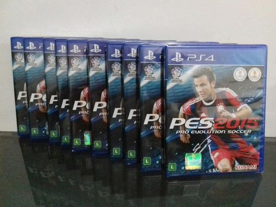 Pes 2015 Original Novo Lacrado Jogo De Ps4 Playstation 4