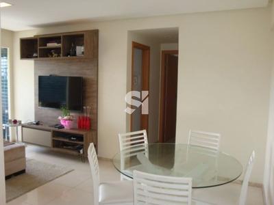Apartamento Dois Quartos (1 Suíte), Para Aluguel, Decorado, 2 Vagas, Em Armação! - Ab0176