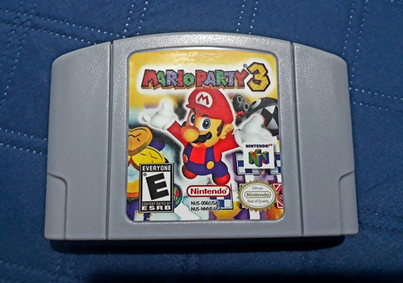 Cartucho Mario Party 3 - N64 Nintendo 64 - Versão Americana