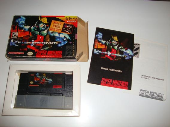 Killer Instinct Nacional Completo Para Super Nintendo