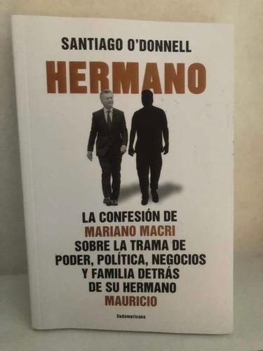 Libro Hermano Santiago Odonnell Es Sudamericana
