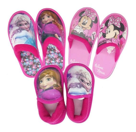 Pantuflas Disney Nena Mundo Moda Pantud