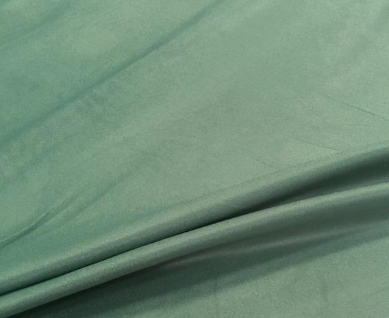 Tecido Veludo Verde Esmeralda Liso Para Móveis E Decorações