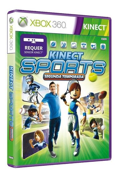Kinect Sports Segunda Temporada - Xbox 360 - Usado -original