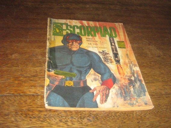 Escorpião 1ª Serie Nº 1 Ago 1966 Edit Taika Original Raro!