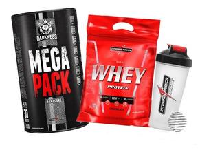 Mega Pack Integralmedica 30 Packs + Nutri Whey 907g + Shaker