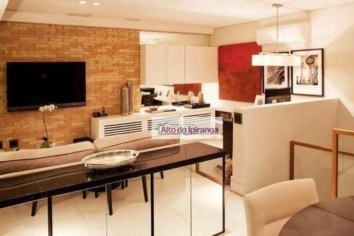 Imagem 1 de 11 de Cobertura Com 2 Dormitórios À Venda, 148 M² - Paraíso - São Paulo/sp - Co0058