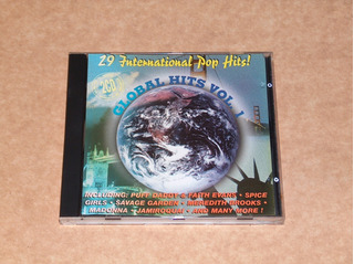 Global Hits Vol. 1 Cd Madonna Michael Prodigy Depeche P78