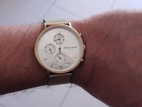 Reloj Pierre Cardin Original43mm Grande Marca Fina Excelente