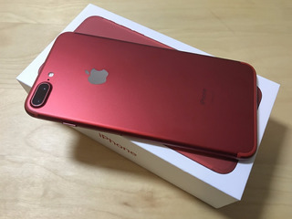 iPhone 7 Plus 128gb Red Anatel Lacrado + Nota + Garantia