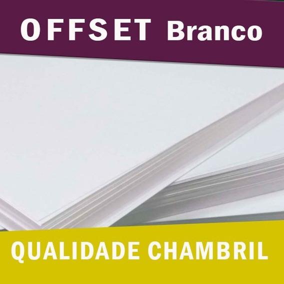Offset Chambril Tam. A4 1.000 Folhas 180g + 500 Folhas 240g