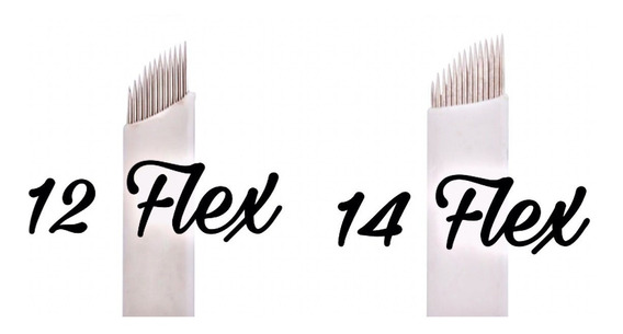Agujas Microblading Filo 12 X10 Unidades