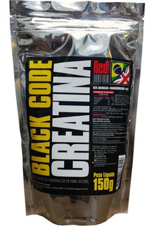 Black Code Creatina Suplemento 150g - Red Series
