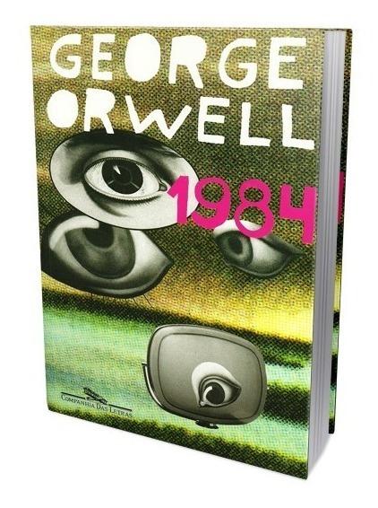 Livro 1984 George Orwell Grande Irmão Big Brother Literatura