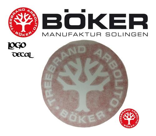 Calcomania Boker Logo