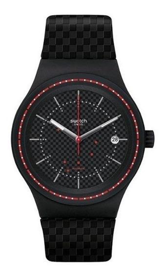Relógio Swatch Sistem Damier Masculino Sutb406 Automático