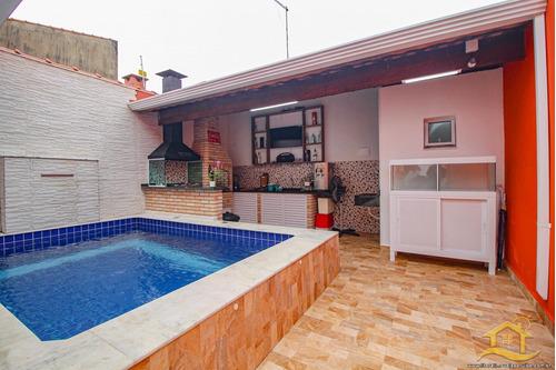 Imagem 1 de 10 de Casa No Bairro São João Batista Ii Em Peruíbe - 2861