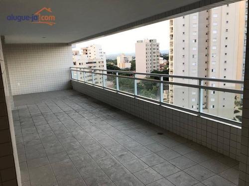 Apartamento Com 3 Dormitórios À Venda, 182 M² Por R$ 1.250.000 - Vila Ema - São José Dos Campos/sp - Ap11557