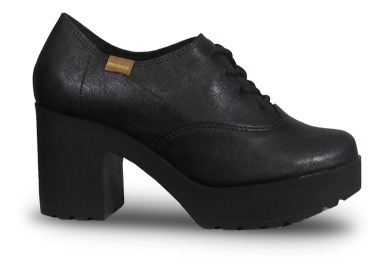 Moleca 564710 Zapato Acordonado Taco Plataforma Moda Mujer