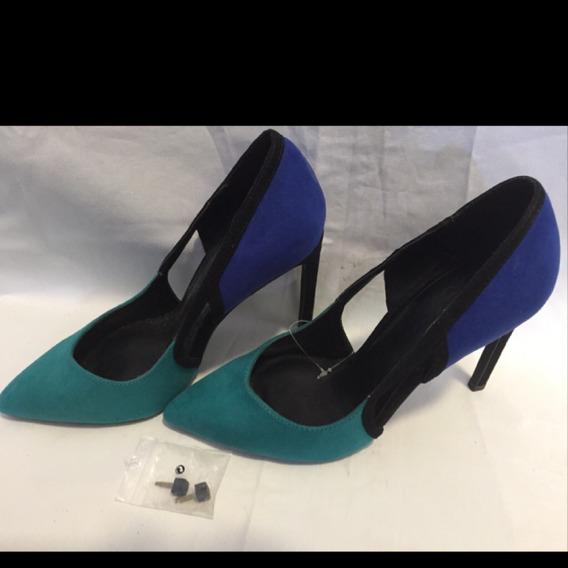 Zapatos De Gamuza Stileto Día Colore Divinos Última Moda