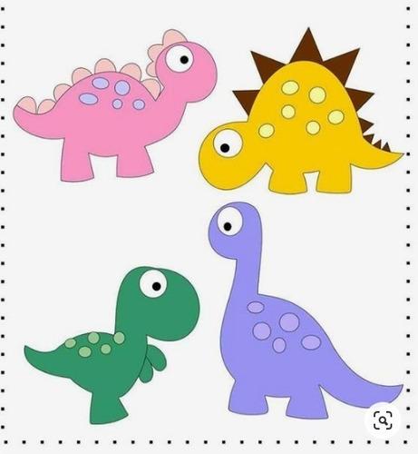 Cortantes Dinosaurios Bebe Para Collage 8 Cm X Unidad Mercado Libre Con bolsillo y cinta para que lo puedas ajustar a la medida de tu pequeño. cortantes dinosaurios bebe para collage 8 cm x unidad