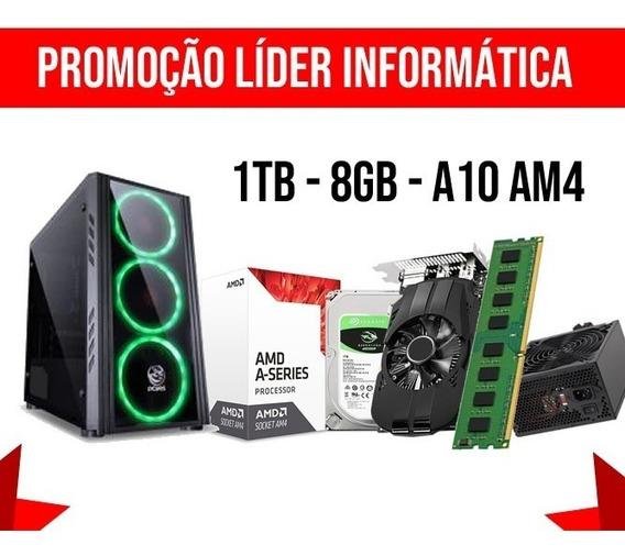 Cpu Gamer A10 9700 3.8ghz, 8gb, Hd 1tb, Ssd120gb, Radeon R7