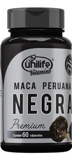 Maca Peruana Negra Premium Preta Unilife Original Black Maca