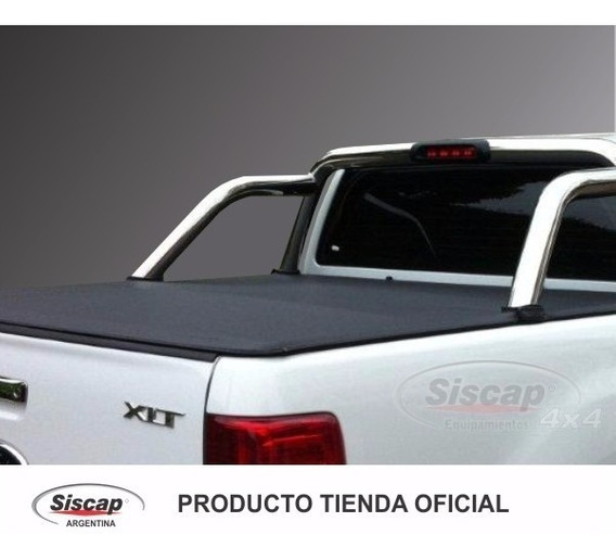 Lona C/ Estructura De Aluminio Siscap Para Ranger X L T Dc
