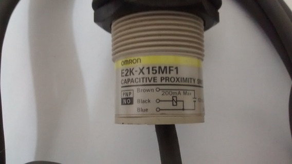 Sensor Capacitivo E2k-x15mf1 Omron Pnp/no Frete Gratis