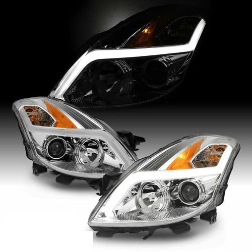 Nissan Altima Coupe 2008 - 2009 Juego De Faros Nuevos!!!
