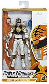 Power Ranger Blanco Juguete Para Niño
