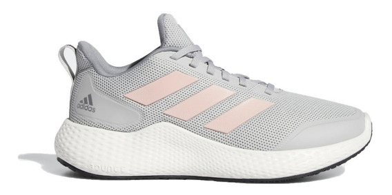 Zapatillas adidas Running Niña Edge Gameday Gris-rosa Ras