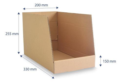 Caixa Papelão Organizadora Estoque Colmeia  Ga05 15 Unidades
