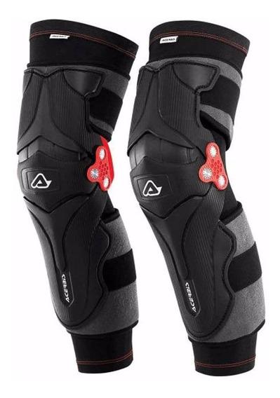 Rodilleras Motocross Enduro Acerbis Articuladas X-strong Nt