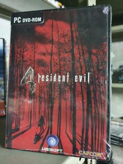 Resident Evil 4 Pc Fisico Castellano Nuevo Sellado Abasto