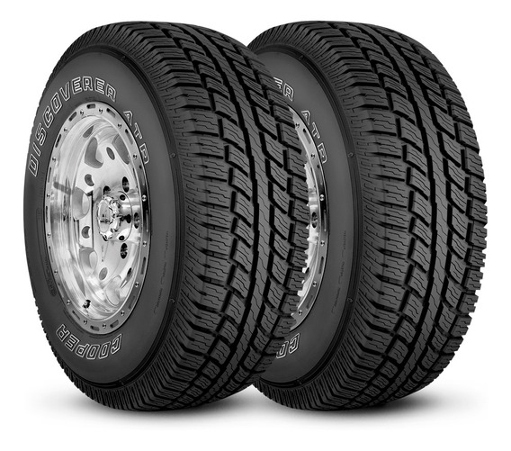 2 Neumaticos Cooper Lt 235/75 R15 104/101r Tl Discoverer At