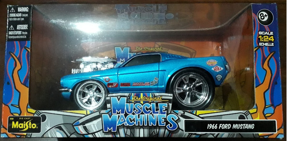Maisto 1:24 - Muscle Machines - 1966 Ford Mustang