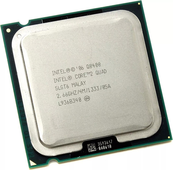Intel Core 2 Quad Q8400 2,66ghz Socket 775 +past + 4gb Ddr3