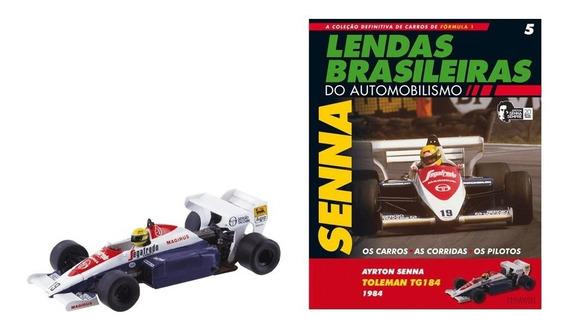 Lendas Brasileiras - Ed 05 - Toleman Tg184 - Ayrton Senna