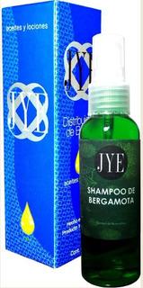 Shampoo Bergamota Organico Jye Kit Con Cepillo Locion Aceite