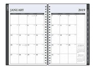 Blue Sky 2020 Planificador Semanal Mensual Cubierta