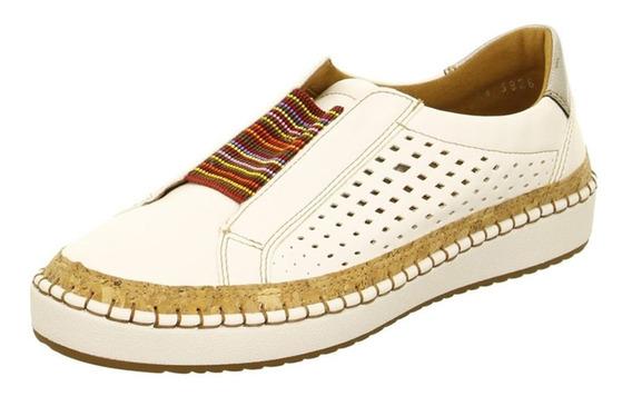 36 Tênis Branco Slide Ocos Redondo Toe Casual