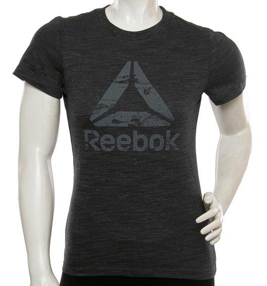 Remera Marble Logo Reebok