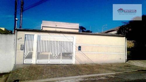 Sobrado Residencial À Venda, Vila Ré, São Paulo - So1334. - So1334