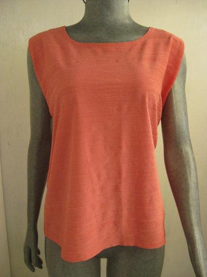 Blusa Vintage Estampada Talla 2x Marca Dressbarn